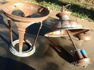 Preparing Outdoor Light Fixtures for Paint
