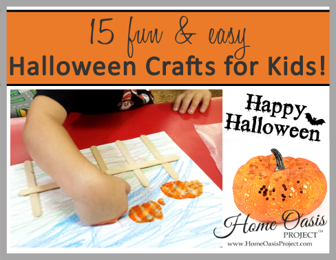 15 Fun And Easy Halloween Craft Projects For Kids