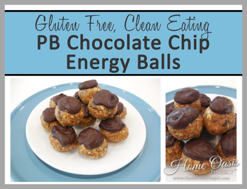 PB Chocolate Chip Energy Balls