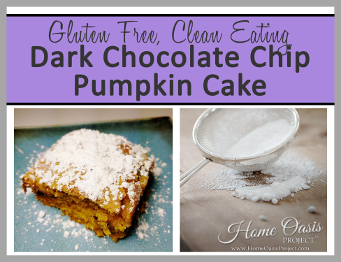 Dark Chocolate Chip Pumpkin Cake