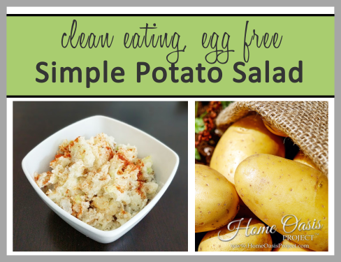 Egg Free Potato Salad