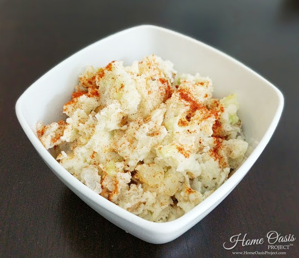 Egg Free Simple and Delicious Potato Salad
